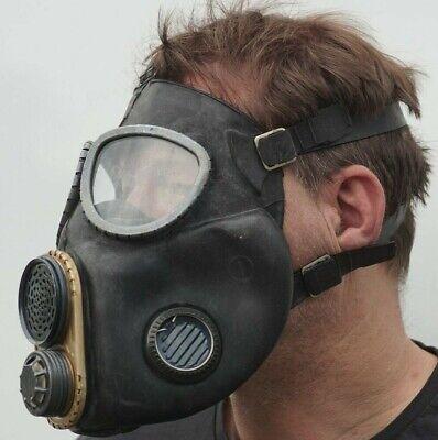 Gasmaske M10M Srechmembran Filter NVA  ABC Schutzanzug  Halloweenartikel Gummi