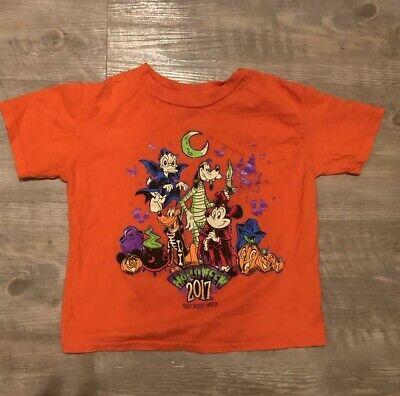 Walt Disney World - Halloween 2017 - Youth T-Shirt XXS - Mickey Goofy Pluto ](Walt Disney World Halloween Shirts)