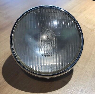 GENUINE LUCAS HEADLIGHT ASSEMBLY FOR TRIUMPH T150 TRIDENT 1968 1970