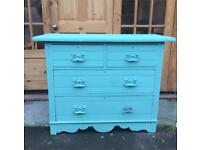Painted Vintage Chest Of Drawers