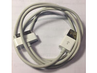 Official Apple 30-pin USB cable for iPhone/iPad/iPod (Like New)