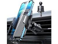 VANMASS Universal Car Phone Holder Air Vent [Ultra-stable Steel-cored Hook]360°