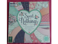 """Sweet Nothings Paper Pad – 48 Sheets, Size: 12"""" x 12"""" (Cardmaking & Papercraft)"""