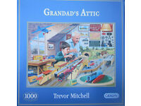 Grandad's Attic - Brand New 1000 piece Jigsaw Puzzle (Gibsons)