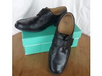 Clarks Hang Roll Mens Casual Shoes Size 10 1/2 G with Box
