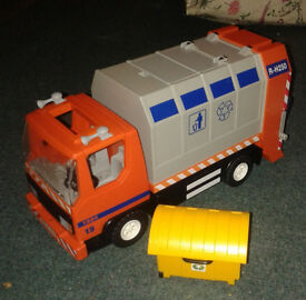 Playmobil Dustcart Recycling Truck and Various Xmas Christmas Items