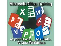 Professional Microsoft Office Training--- Excel, PowerPoint, etc. ---Instructor will come to you---