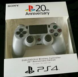 Sony PS4 20th Anniversary Edition Controller BRAND NEW AND STILL SEALED.