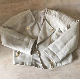 Kids H and m suede jacket