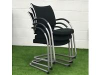 Weisner Hager Point mesh cantilever cheap chair meeting office furniture Harlow