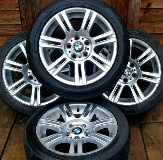 Bmw 3 Series Msport E90 17 Alloy Wheels Staggered 5 X 120