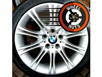 "18"" Genuine BMW 5 ser MV2 alloys good cond good tyres."