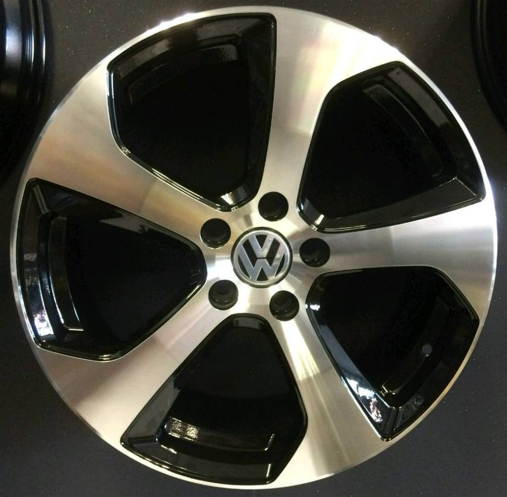 NEW 18'' VW FRI MONZA STYLE ALLOY WHEELS X4 BOXED 5X112 GOLF MK5 MK6 MK7 SCIROCCO PASSAT CADDY AUDI