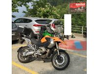 BMW R1200GS 2008 facelift model Namibia orange ABS/tracs full keyed BMW luggage
