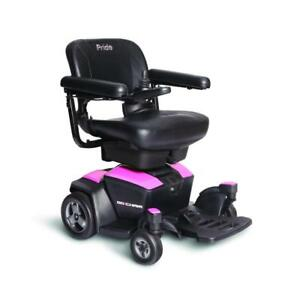 Brand NEW Portable Go-Chair® includes a 1 Year Warranty, Free Delivery and a Tutorial.