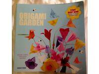 Origami garden book - Brand new