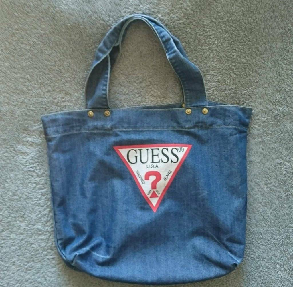 c2b008e3b8a GUESS Jeans USA Denim Tote Bag!   in Fraserburgh, Aberdeenshire ...
