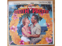 Rodgers & Hammerstein's South Pacific original soundtrack stereo LP/vinyl 1958. £5 ovno.