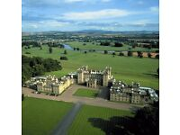 Catering Manager - Floors Castle - Good work life balance - majority day shifts.