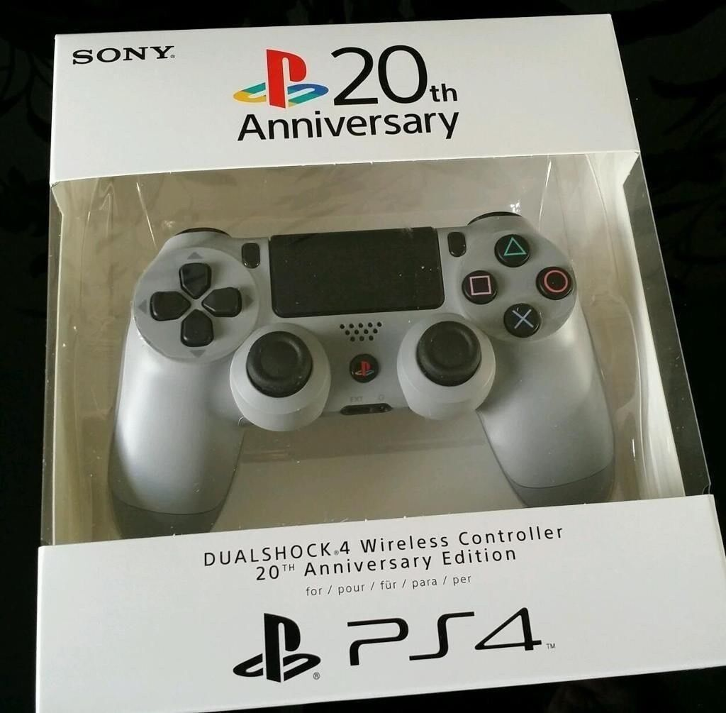 Sony PS4 20th Anniversary Edition Controller NEW STILL SEALED