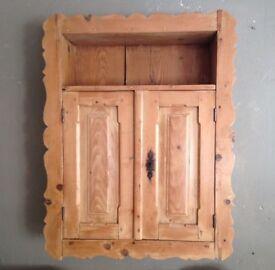 Original Vintage Pine Cupboard