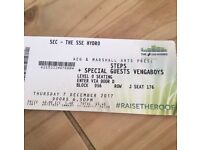 Steps and Venga boys Ticket Glasgow 7th December