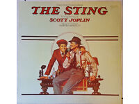 The Sting (Soundtrack) Vinyl, Records, autographed, signed by Robert Redford