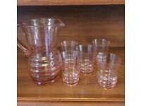 Rose-tinted Glasses and Water Jug