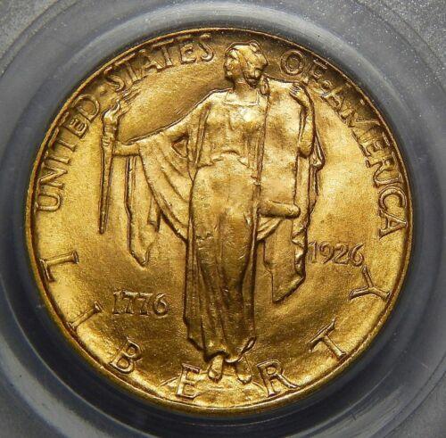1926 PCGS MS64 SESQUICENTENNIAL $2.50 GOLD COMMEMORATIVE