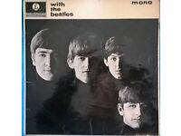 with the Beatles, original 1963 pressing vinyl LP