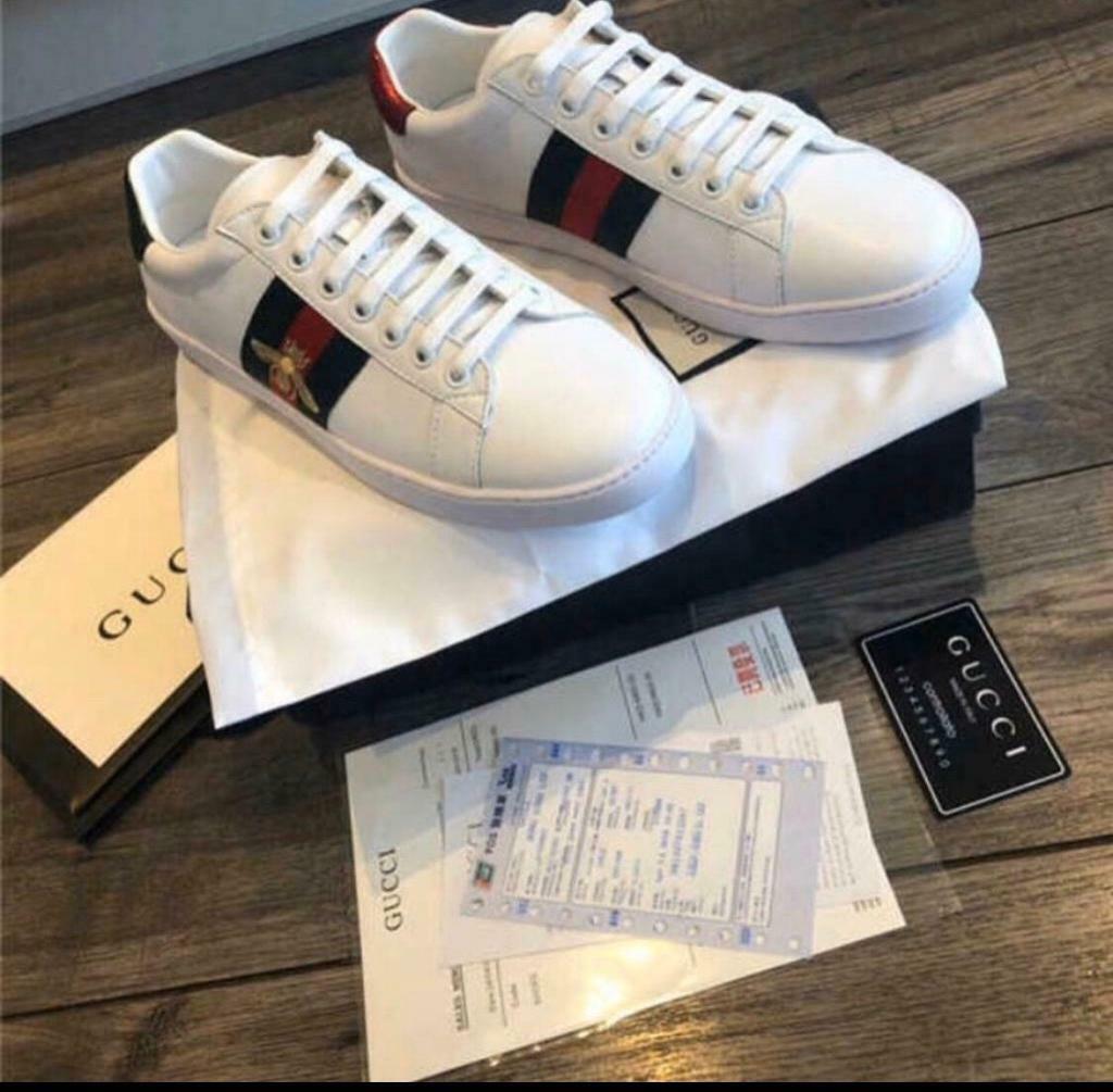 Gucci trainers size 8 \u0026 9 last stock