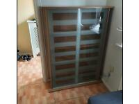 DVD / Book glass display cabinet