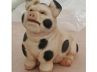 Sitting Pig Ornament