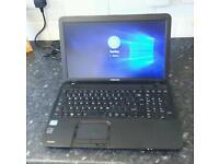 Toshiba Laptop i3 8GB 500GB