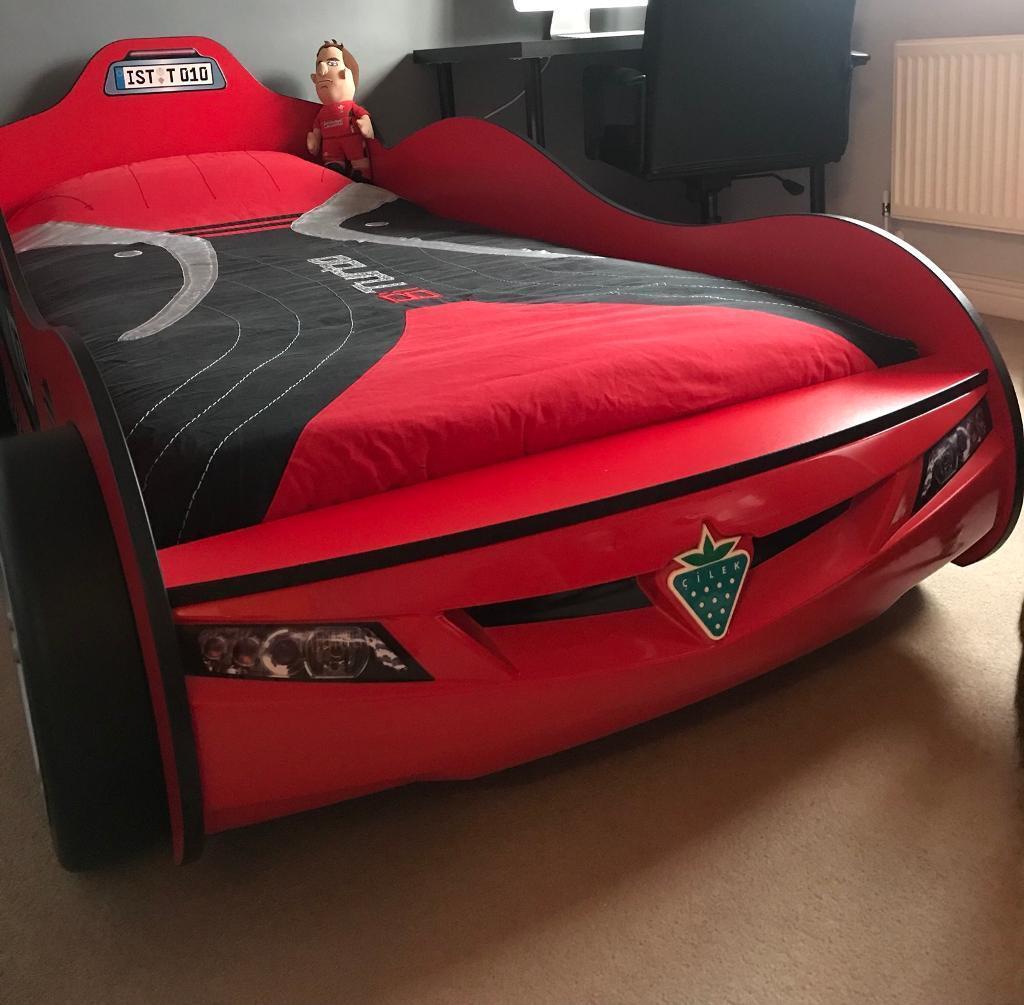 Cilek Racing Car Bed With Matching Furniture In Bridgend Gumtree