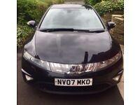 Honda Civic 07, 5 door, 1.8 iVtec, i-shift, EX, 75,000 miles
