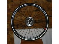 Giant SR2 700c Back Wheel w/ Tektro Disc, Tyre and Tube from Hybrid Rapid 2 2016