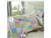 Ditsy patchwork bedding bundle