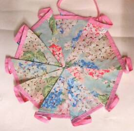 Cath Kidston handmade double sided bunting