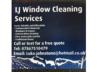 LJ Window cleaning services