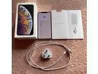 Like New Sim Free Unlocked Apple iPhone XS Max 64GB Silver