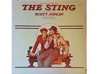 """The Sting"" original movie soundtrack Robert Redford HAND SIGNED"