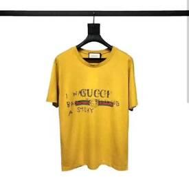 Gucci Capitan Tshirt Yellow