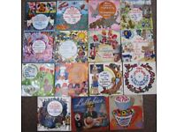 15 x 7inch Records - Childrens and other popular songs