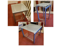 3x small tables: coffee table, side table, lamp table