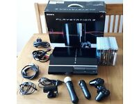 PS3 and 8 games including PS Move