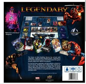 Legendary: A Marvel Deck Building Game.