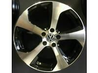 "LATEST 19"" VW MONZA GTI GTD STYLE ALLOY WHEELS X4 BOXED 5X112 GOLF CADDY VAN PASSAT SCIROCCO"