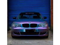 **UNIQUE BMW 120d 2008** 12 MNTS MOT ** MODIFIED & MAPPED **
