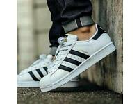Adidas superstar trainers (Free Delivery)